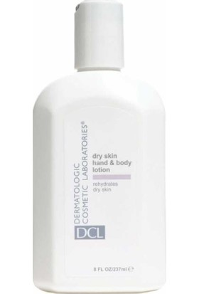 DCL Dry Skin Hand And Body Lotion Kuru Ciltler İçin El ve Vücut Losyonu 237 ml