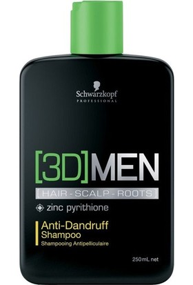 3D Mension Anti Dandruff Kepek Kontrol Şampuanı 250Ml