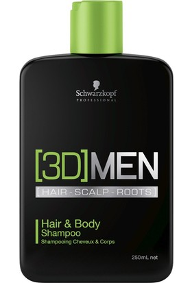 3D Mension Hair And Body Şampuan 250 ml