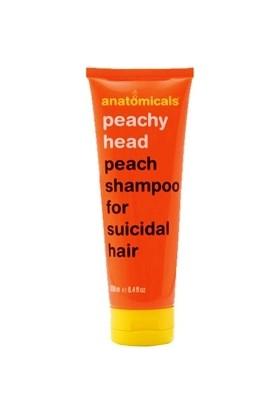 Anatomicals Peach Shampoo 250 ml - Şeftali İçerikli Şampuan