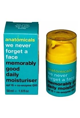 Anatomicals Spf 15 Daily Moisturiser 50 ml