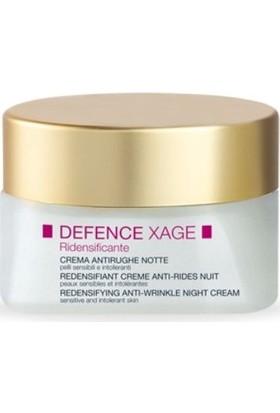 BioNike Defence Xage Anti-Wrinkle Replenishing Night Cream Anti Aging Gece Kremi 50 ml