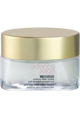 BioNike Defence Xage Anti-Age Filler Night Cream Anti Aging Gece Kremi 50 ml