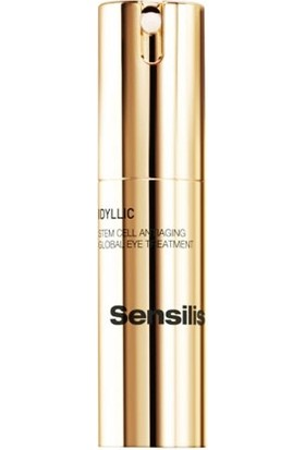 Sensilis Idyllic Stem Cell Antiaging Global Eye Contour Treatment 15 ml Kök Hücre Göz Çevresi Kremi