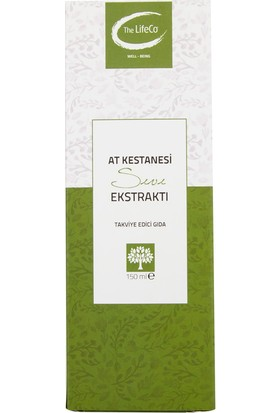 The LifeCo At Kestanesi Ekstraktı 150 ml
