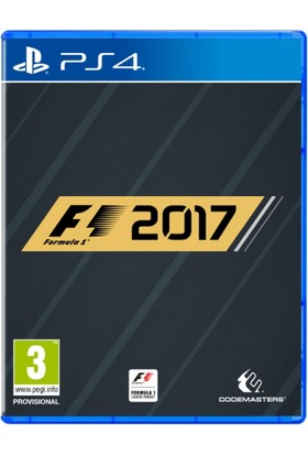 F1 2017 Special Edition PS4 Oyun