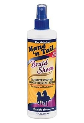Mane n Tail Braid Sheen Spray 355 ml
