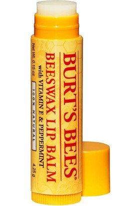 Burt s Bees Beeswax Lip Balm Beeswax Dudak Bakımı 4.25 g