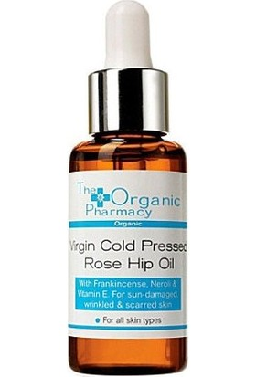 The Organic Pharmacy Virgin Cold Pressed Rose Hip Oil Lekeli Cilt Bakım Yağı 30ml