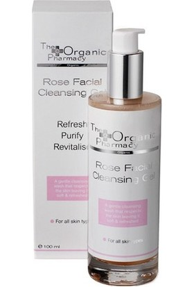 The Organic Pharmacy Rose Facial Cleansing Gel Gül İçerikli Temizleyici Jel 100ml