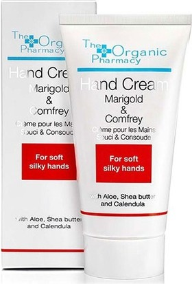 The Organic Pharmacy Marigold-Comfrey Hand Cream El ve Tırnak Bakım Kremi 50ml