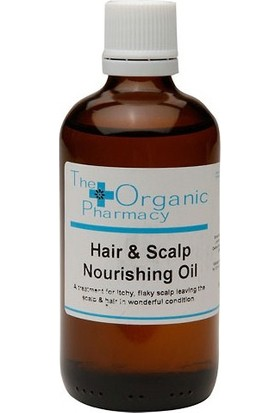 The Organic Pharmacy Hair & Scalp Nourishing Oil Saç Derisi İçin Düzenleyici Yağ 100ml