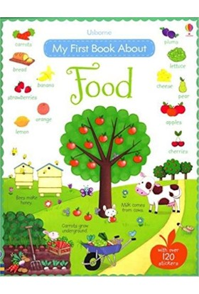 My First Book About Food - Felicity Brooks