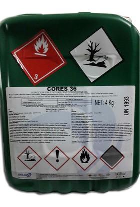 Belgin Cores 36 - 4 kg Korozyon Önleyici Yağ