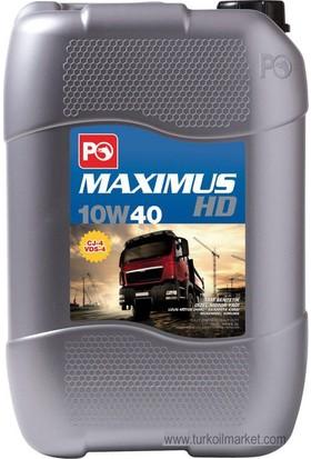 Po Maximus HD 10W-40 - 20 L