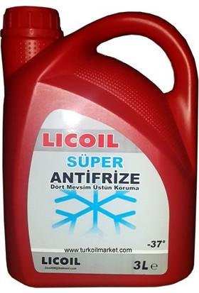 Licoil Kırmızı Antifriz - 3 Lt