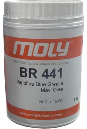 Moly BR 441 Mavi Rulman Gresi - 1 kg