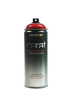 Motip Carat Parlak Ateş Kırmızı Sprey Boya - 400 ml RAL3000