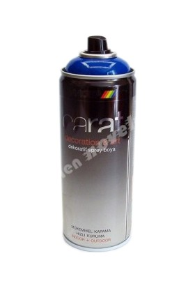 Motip Carat Parlak Koyu Lacivert Sprey Boya - 400 ml RAL5002