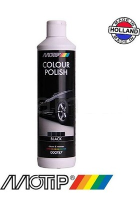 Motip Colour Polish Siyah Renkli Cila - 500 ml