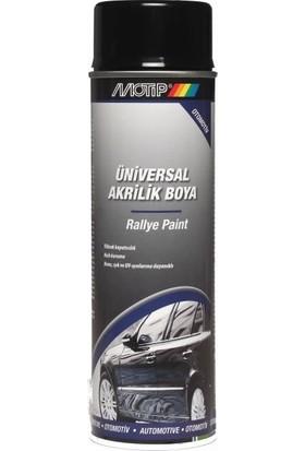 Motip Universal Akrilik Boya Siyah Parlak - 500 ml