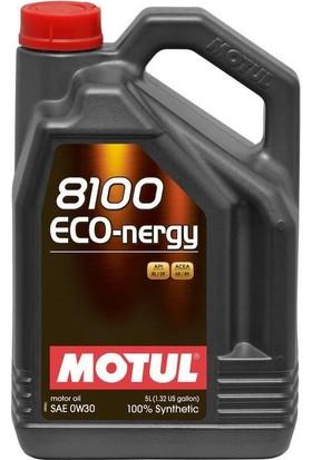 Motul 8100 Eco Nergy 0W-30 - 5 Litre