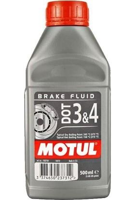Motul Dot 3 & 4 - 500 ml Fren Hidrolik Yağı