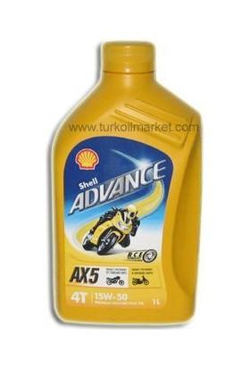 Shell Advance AX5 15W-50 - 1 L