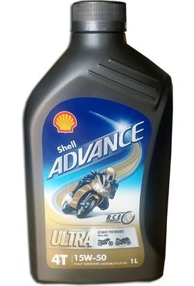 Shell Advance Ultra 4T 15w-50 - 1 Litre
