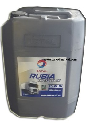 Total Rubia TIR 7200 FE 15W-30 - 20 litre