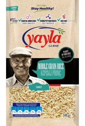 Yayla 500 Gr Gurme Kepekli Pirinç