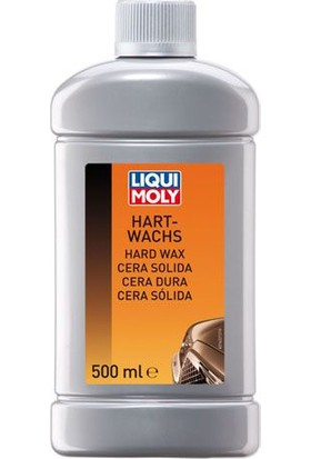 Liqui Moly Hard Wax - 500 ml Parlatıcı Koruyucu Pasta
