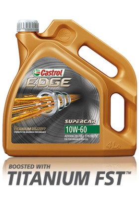 Castrol Edge Supercar 10W-60 - 4 Litre