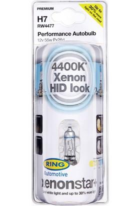 Xenon Star H7 12v Beyaz Işık + %30 Fazla Işık- Far Ampul Seti