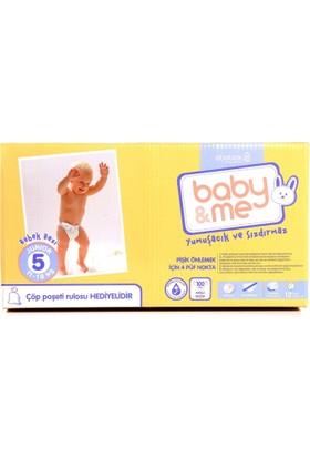 Baby&Me Bebek Bezi Junior 5 Numara 100 Adet