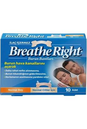 Breathe Rıght Burun Bandı 10 Adet(Normal Boy)