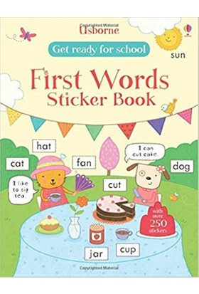 Get Ready For School First Words Sticker Book (Get Ready For School Sticker Books)