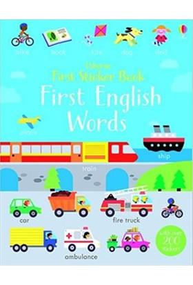 First Sticker Book First English Words (First Sticker Books)