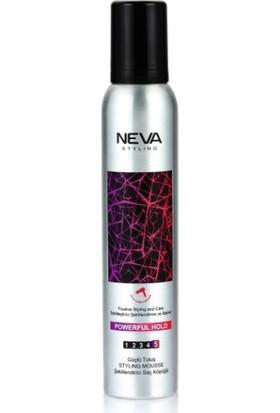Neva Styling Saç Köpüğü Powerful Hold Güçlü Tutuş 200 ml