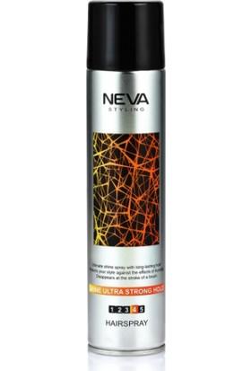 Neva Styling Saç Spreyi - Shine Ultra Strong Hold 250 ml