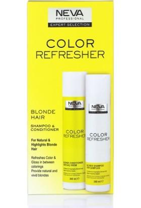 Neva Color Refresher Renk Yenileyici Sarı Şampuan ve Krem Set 300 ml