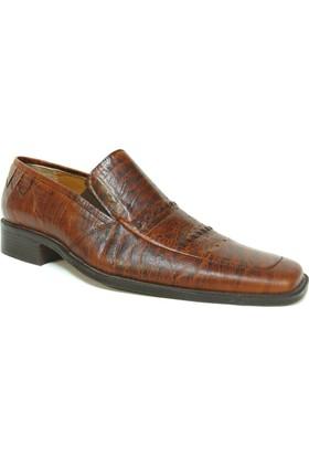 Fastway 512 Kahverengi Bağcıksız Erkek Ayakkabı