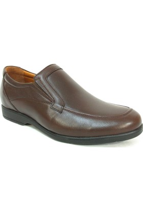 Bemsa 680 Kahverengi Bağcıksız Comfort Erkek Ayakkabı