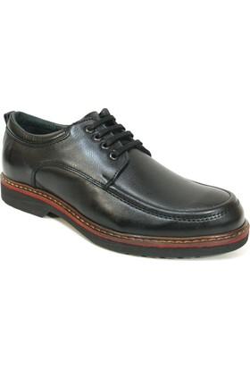 Fierro 1414 Siyah Bağcıklı Casual Erkek Ayakkabı