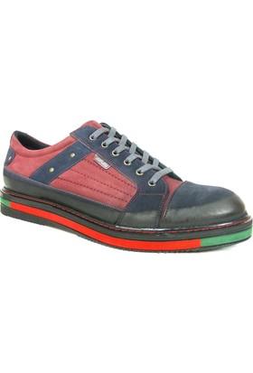 Dropland 3540 Lacivert Bağcıklı Casual Erkek Ayakkabı
