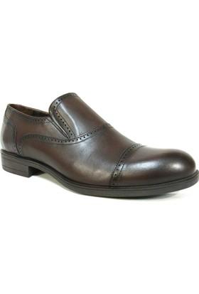 MCP 45574 Kahverengi Bağcıksız Günlük Klasik Ayakkabı