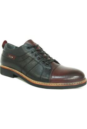 Slope 117890 Siyah Bağcıklı Erkek Ayakkabı