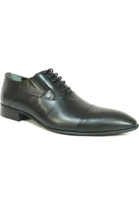 Zirve 140423 Siyah Bağcıklı Erkek Ayakkabı