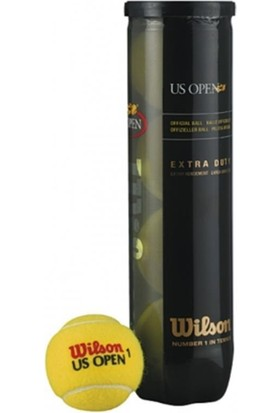 Wilson 116200 4 Lü Us Open Tenis Topu