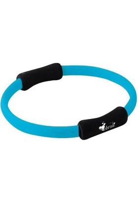 Ebruli Pilates Çemberi Mavi/Siyah